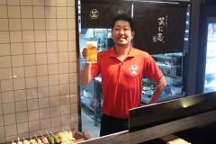 淡路島の洲本市にある居酒屋、我流遊食笑に志。は自慢の生ビール・地酒と、淡路産の食材をふんだんに使った料理で、お客様のご来店をお待ちしております。